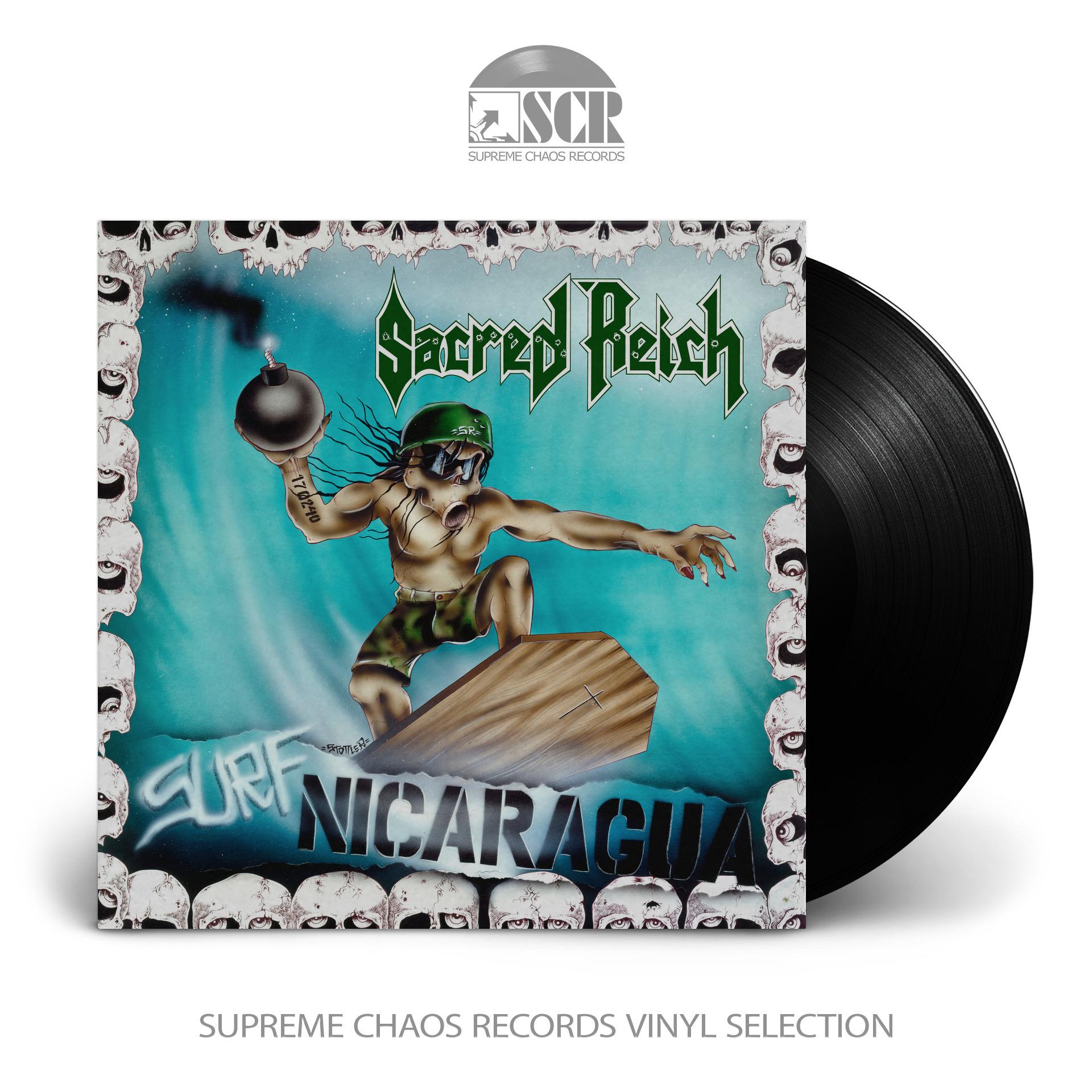SACRED REICH - Surf Nicaragua [BLACK] (LP)