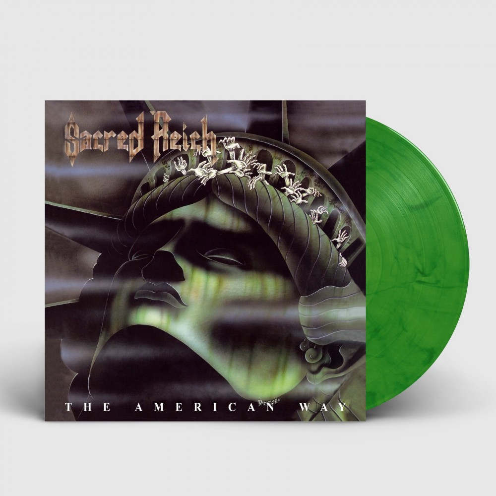 SACRED REICH - The American Way [GREEN] (LP)
