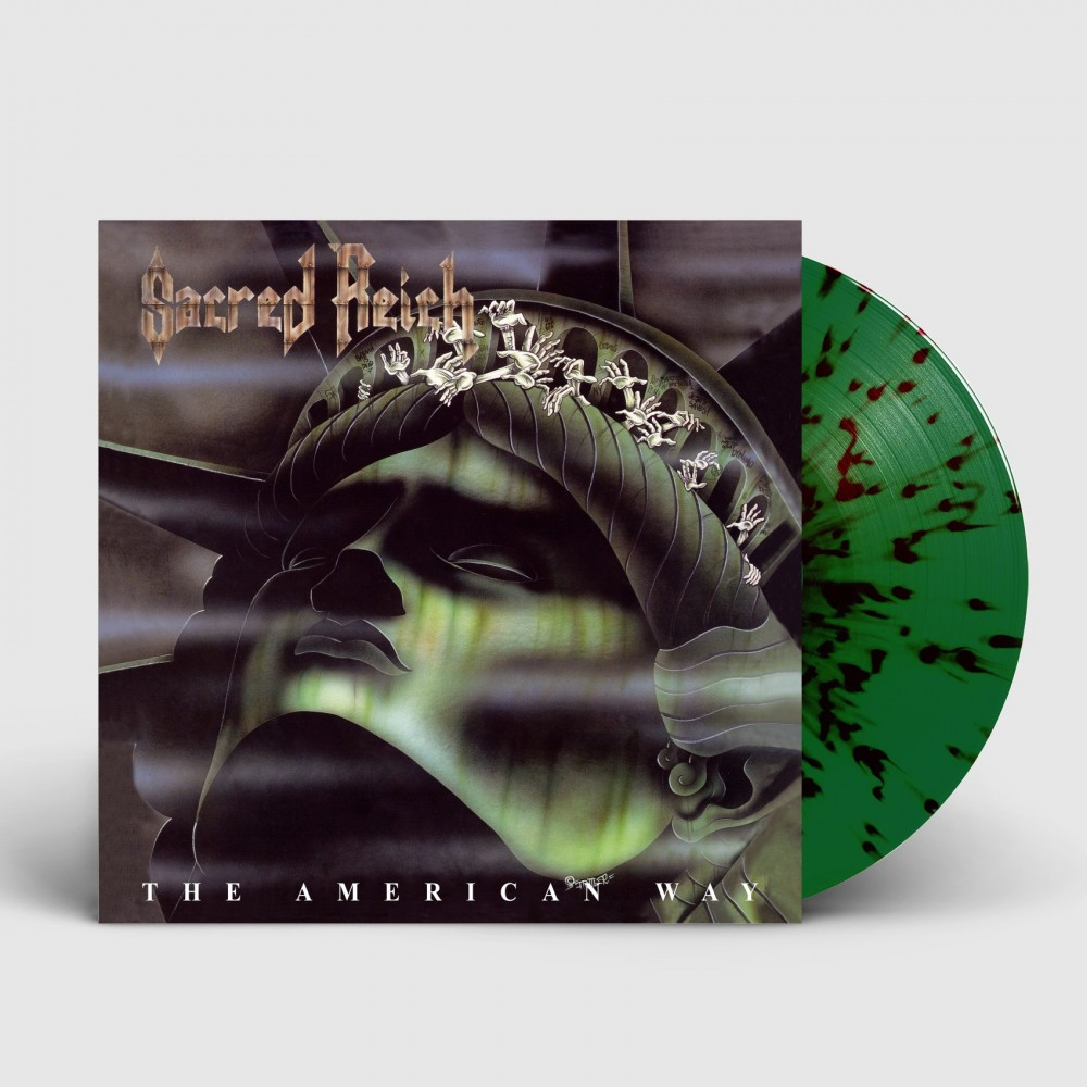 SACRED REICH - The American Way [GREEN/RED/BROWN] (LP)