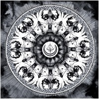 SANGHARSHA / BLANK - Split [BLACK] (LP)