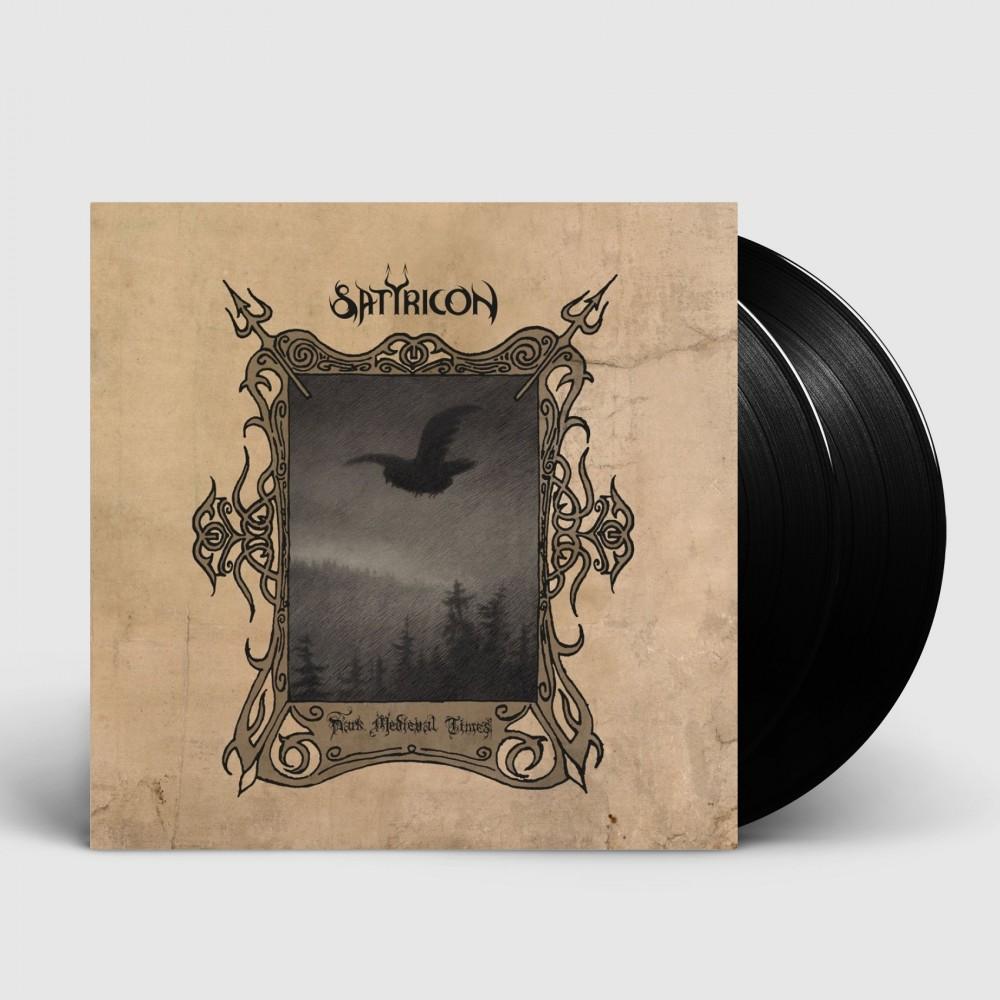 SATYRICON - Dark Medieval Times [BLACK] (DLP)