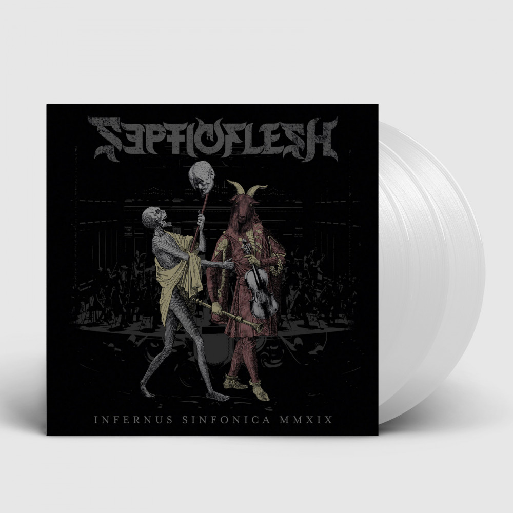 SEPTICFLESH - Infernus Sinfonica MMXIX [CLEAR 3LP+DVD] (BOXLP)