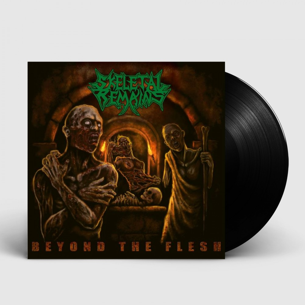 SKELETAL REMAINS - Beyond The Flesh (2021) [BLACK] (LP)