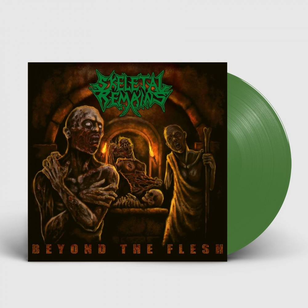 SKELETAL REMAINS - Beyond The Flesh (2021) [PETROL] (LP)