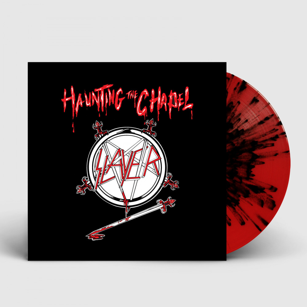 SLAYER - Haunting The Chapel [RED/BLACK] (LP)