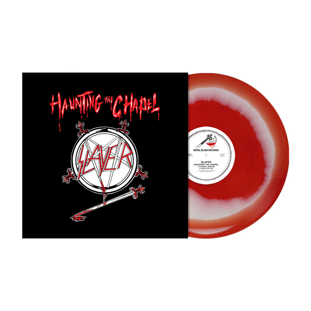 SLAYER - Haunting The Chapel [RED/WHITE] (LP)