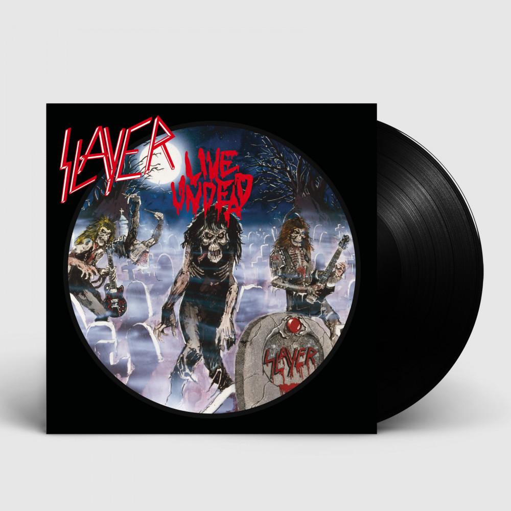 SLAYER - Live Undead [BLACK] (LP)