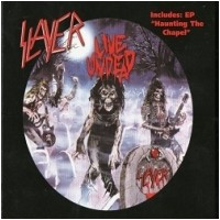 SLAYER - Live Undead/Haunting The Chapel [RSD BLUE/WHITE] (LP)