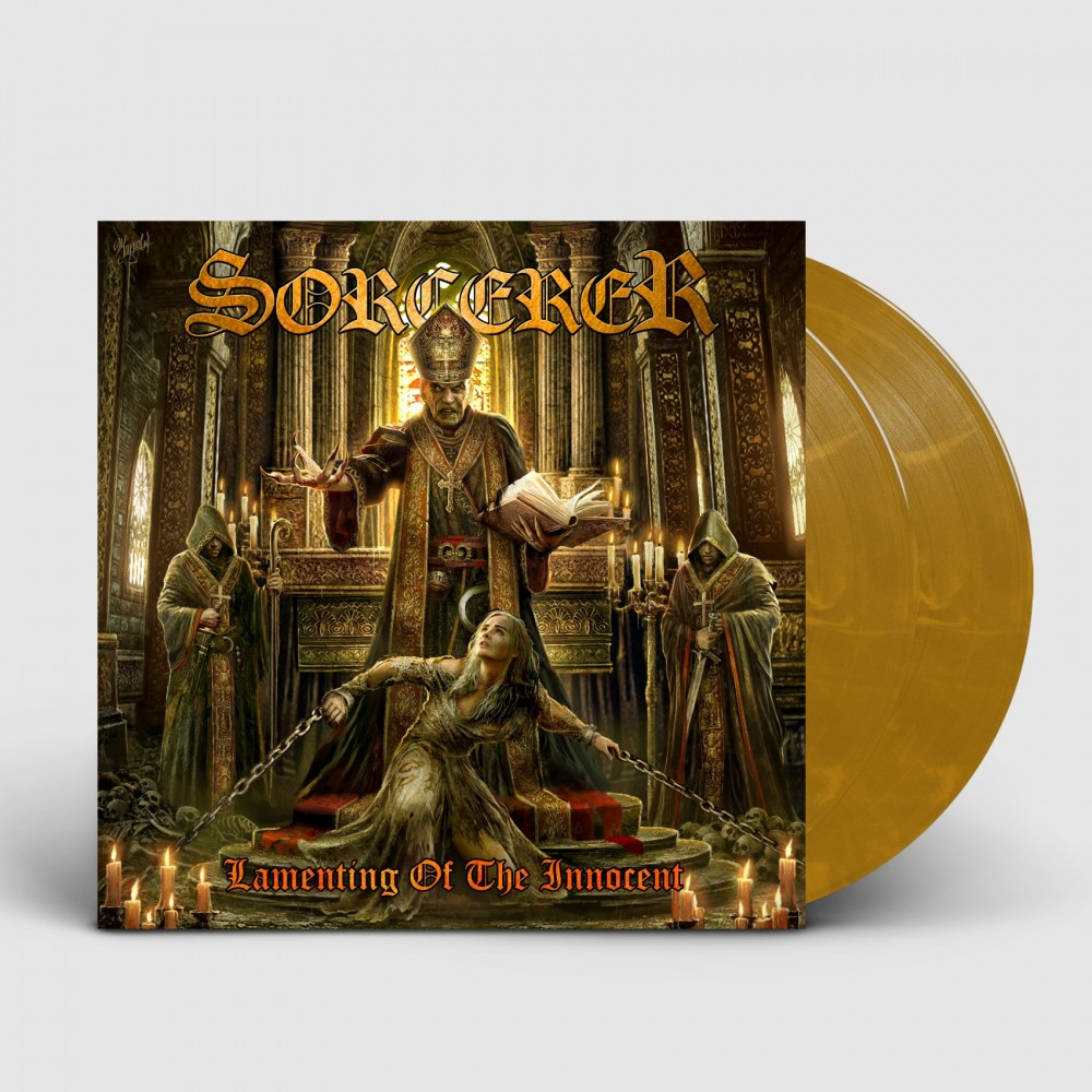 SORCERER - Lamenting Of The Innocent [BROWN] (DLP)