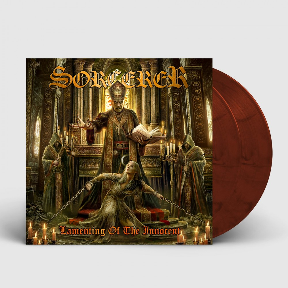 SORCERER - Lamenting Of The Innocent [MAROON] (DLP)