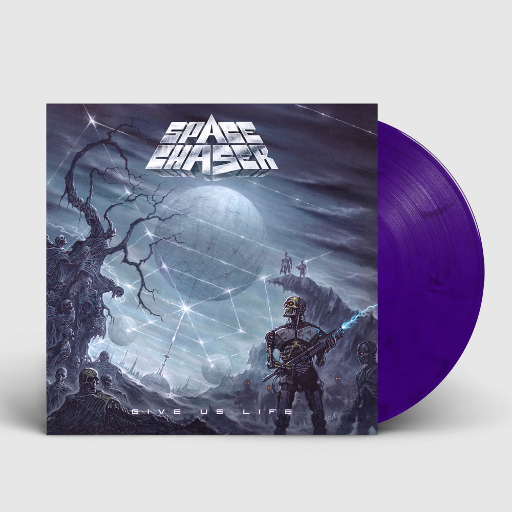SPACE CHASER - Give Us Life [PURPLE/BLACK] (LP)