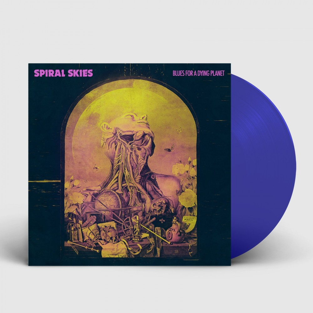 SPIRAL SKIES - Blues For A Dying Planet [BLUE] (LP)