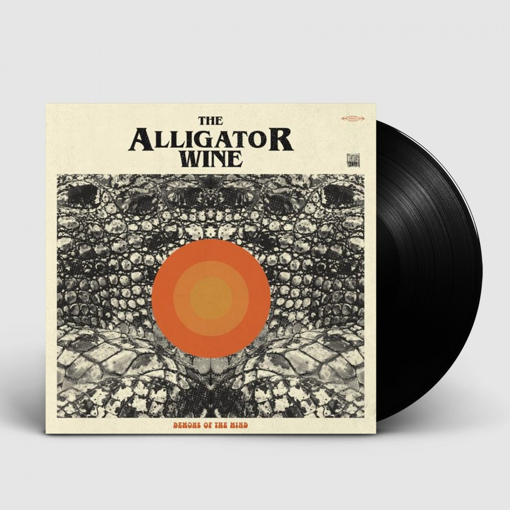 THE ALLIGATOR WINE - Demons Of The Mind [BLACK] (LP)