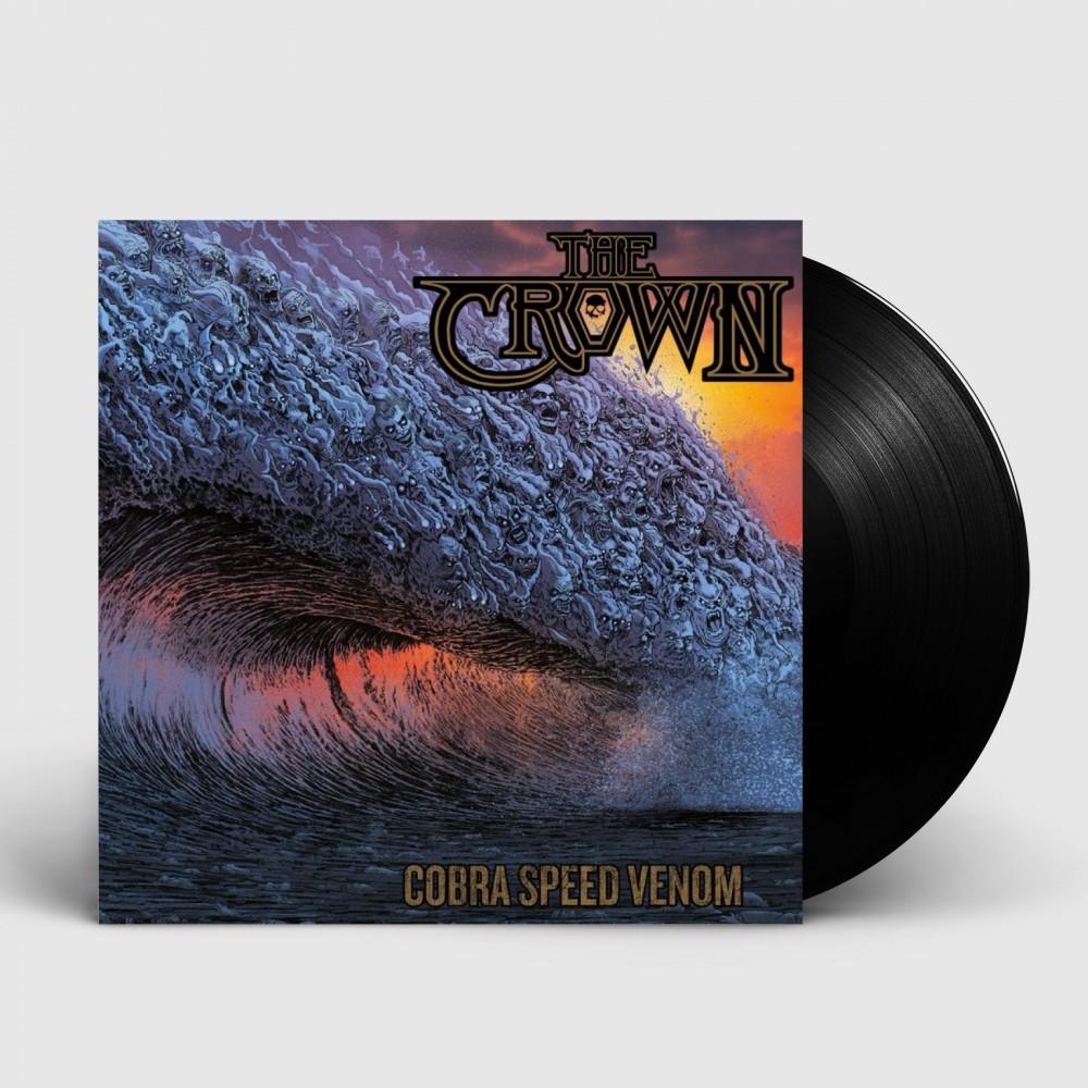 THE CROWN - Cobra Speed Venom [BLACK] (LP)