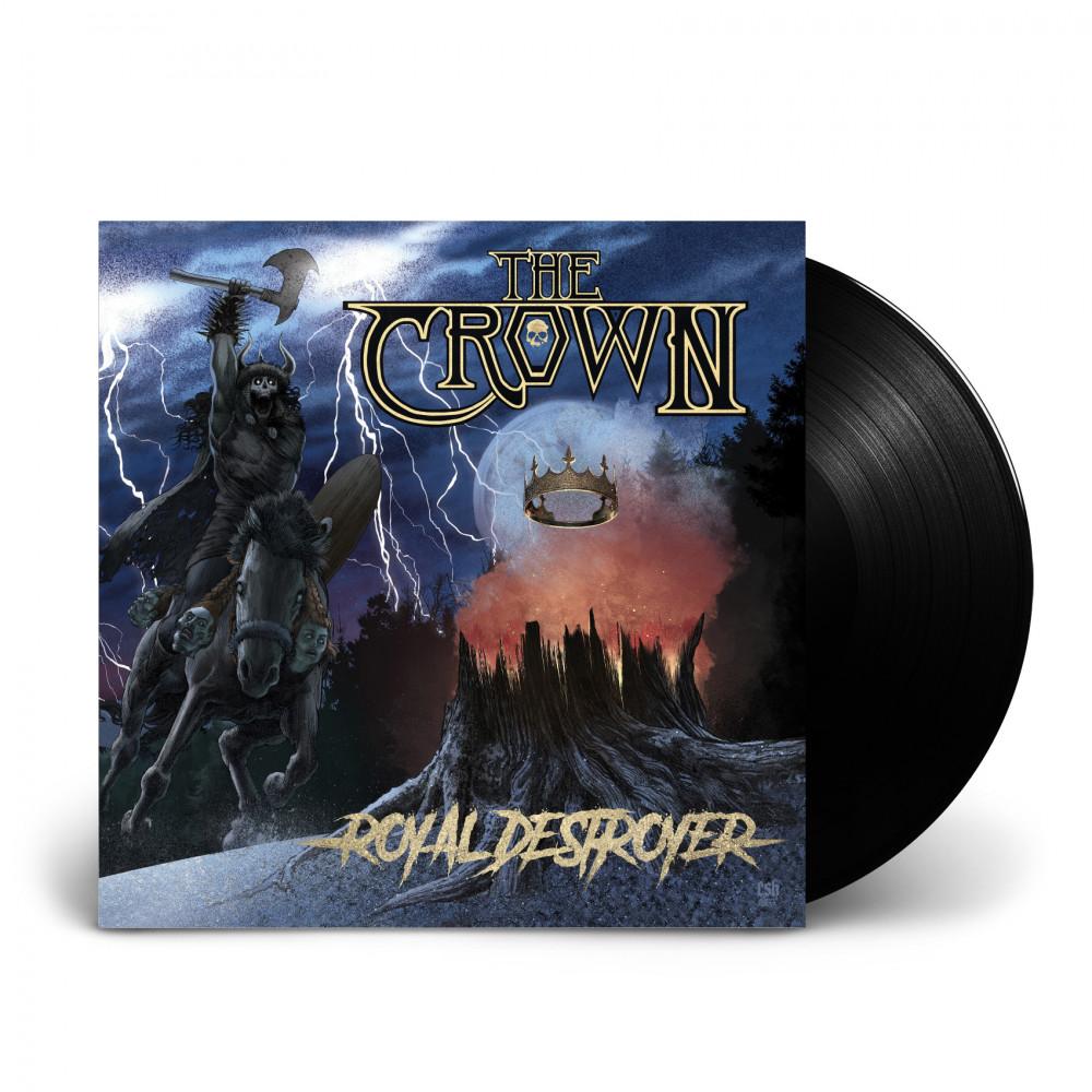 THE CROWN - Royal Destroyer [BLACK] (LP)