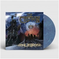 THE CROWN - Royal Destroyer [CLEAR/BLUE] (LP)