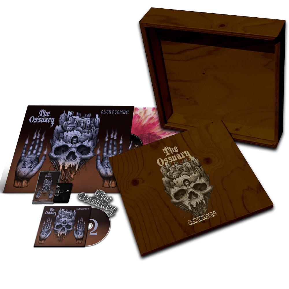 THE OSSUARY - Oltretomba [WOODEN BOX] (LPBOX)