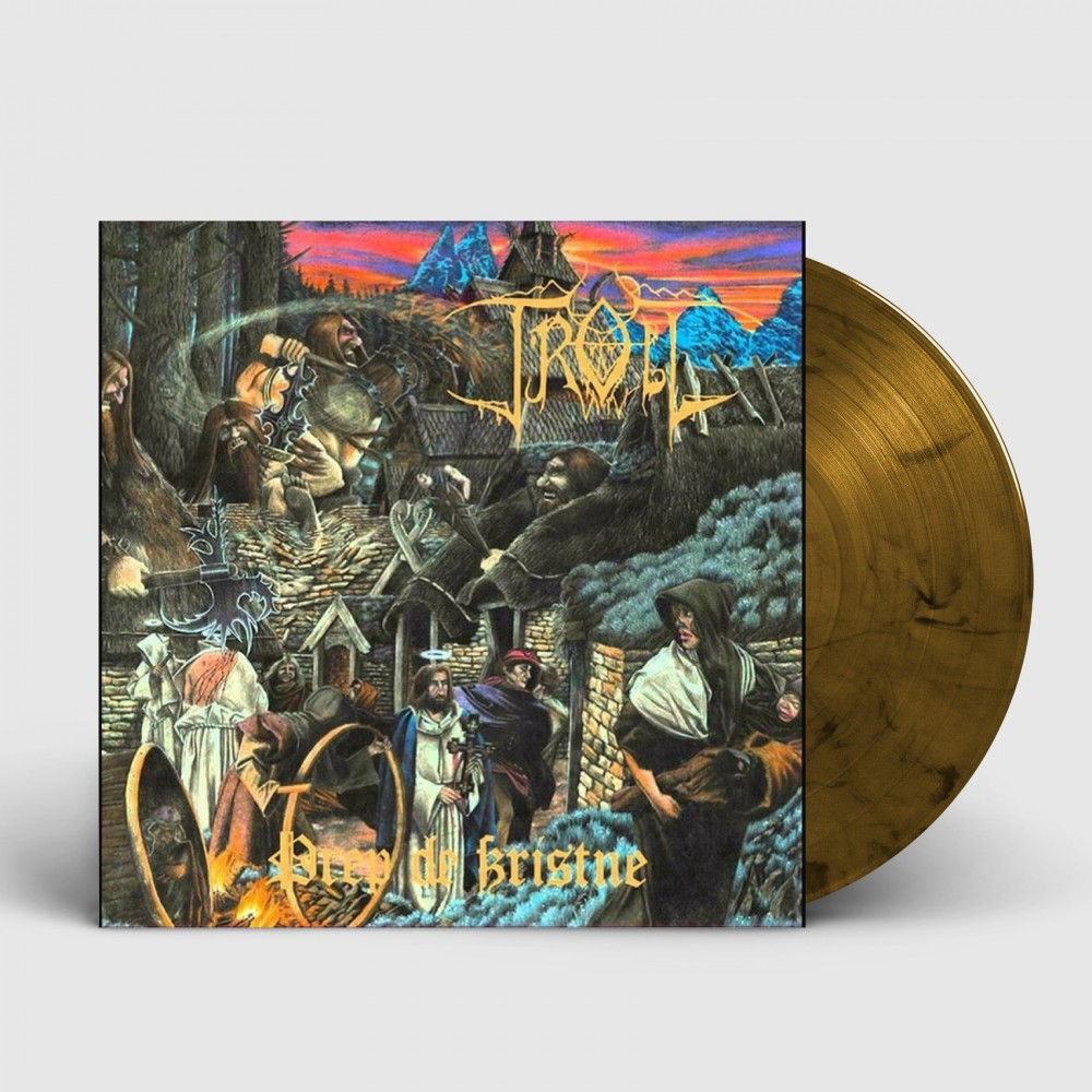 TROLL - Drep De Kristne [AMBER] (LP)