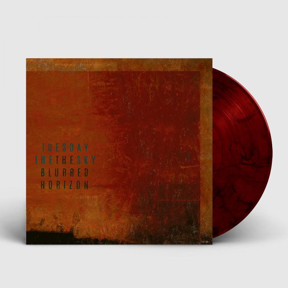 TUESDAY THE SKY - The Blurred Horizon [ORANGE/RED] (LP)
