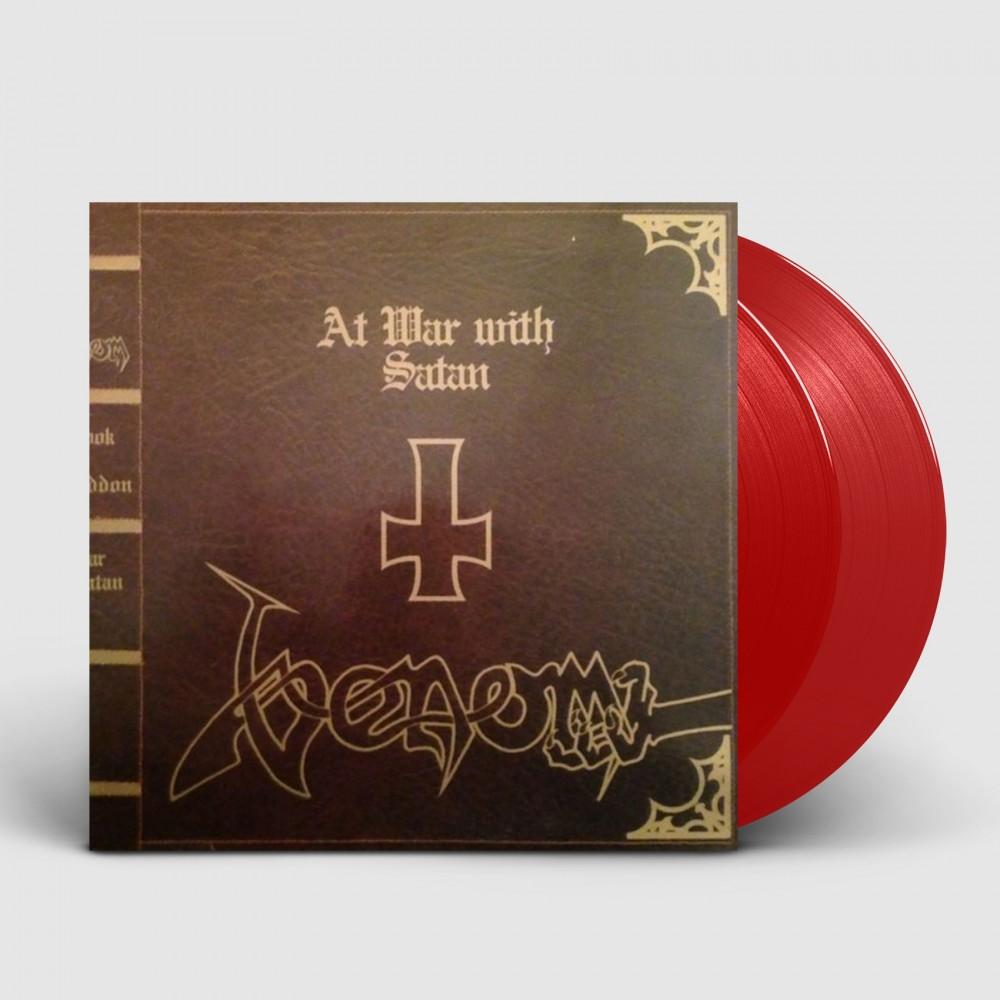 VENOM - At War With Satan [RED] (DLP)