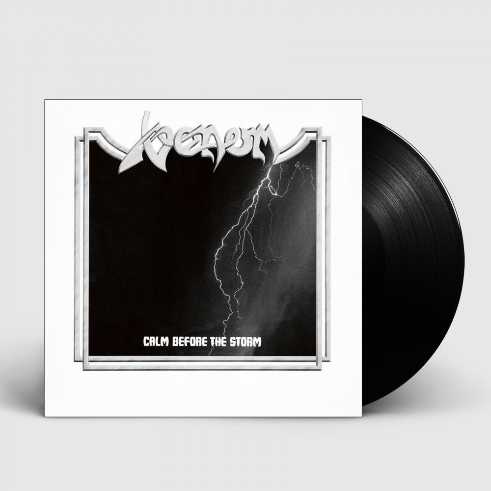 VENOM - Calm Before The Storm [BLACK] (LP)