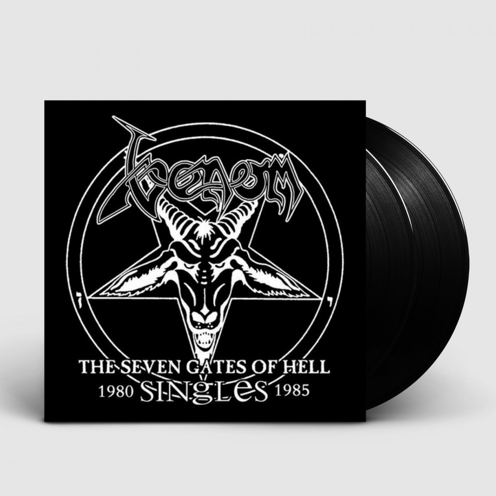 VENOM - The Seven Gates Of Hell: Singles [BLACK] (DLP)