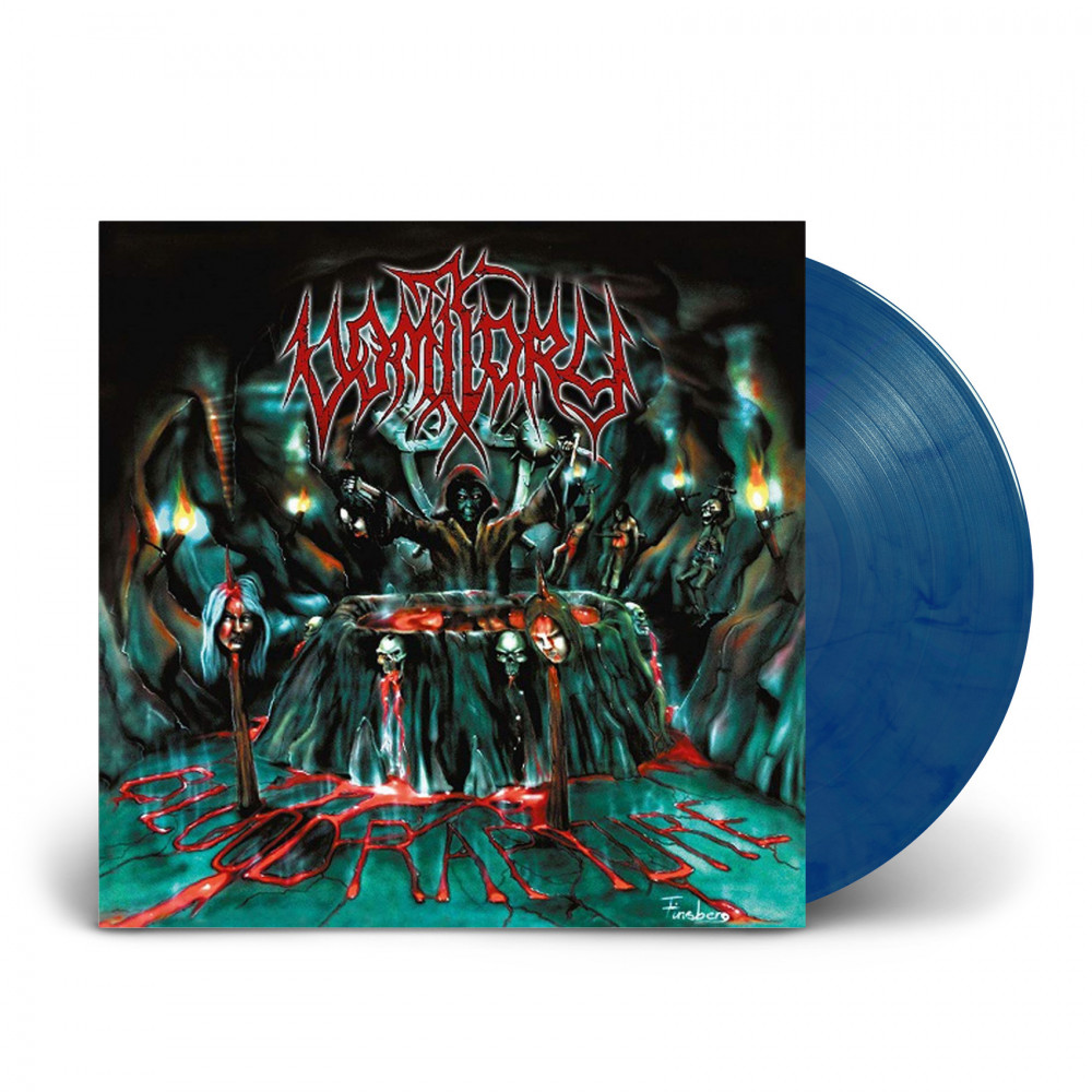 VOMITORY - Blood Rapture [CLEAR BLUE] (LP)
