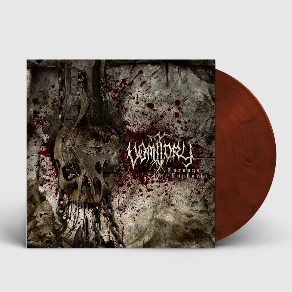 VOMITORY - Carnage Euphoria [BURGUNDY RED] (LP)