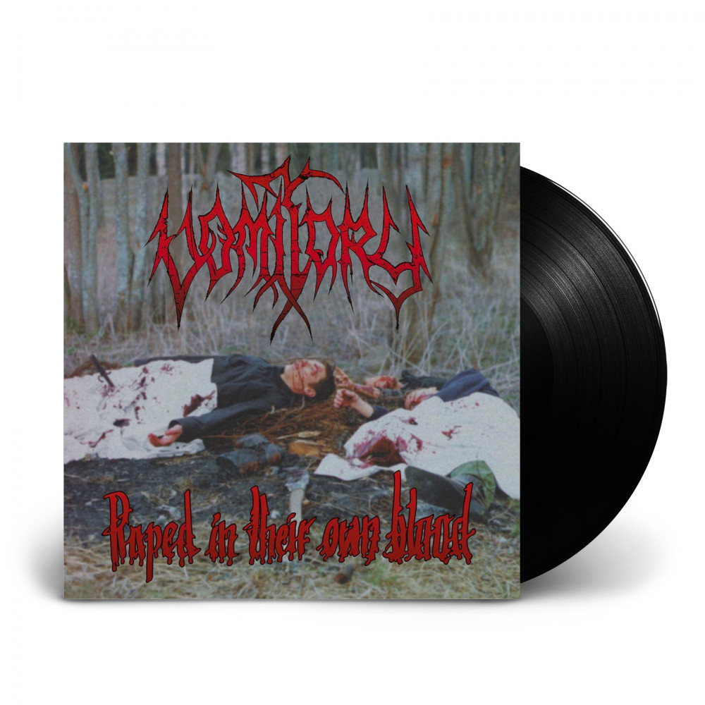 VOMITORY - Raped In Their Own Blood [BLACK] (LP)