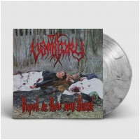 VOMITORY - Raped In Their Own Blood [SILVER/GREY] (LP)