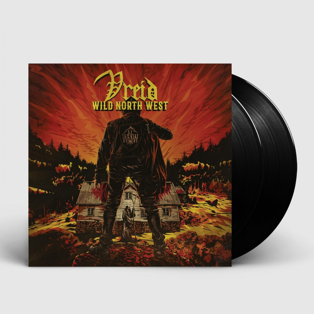 VREID - Wild North West [BLACK] (LP)