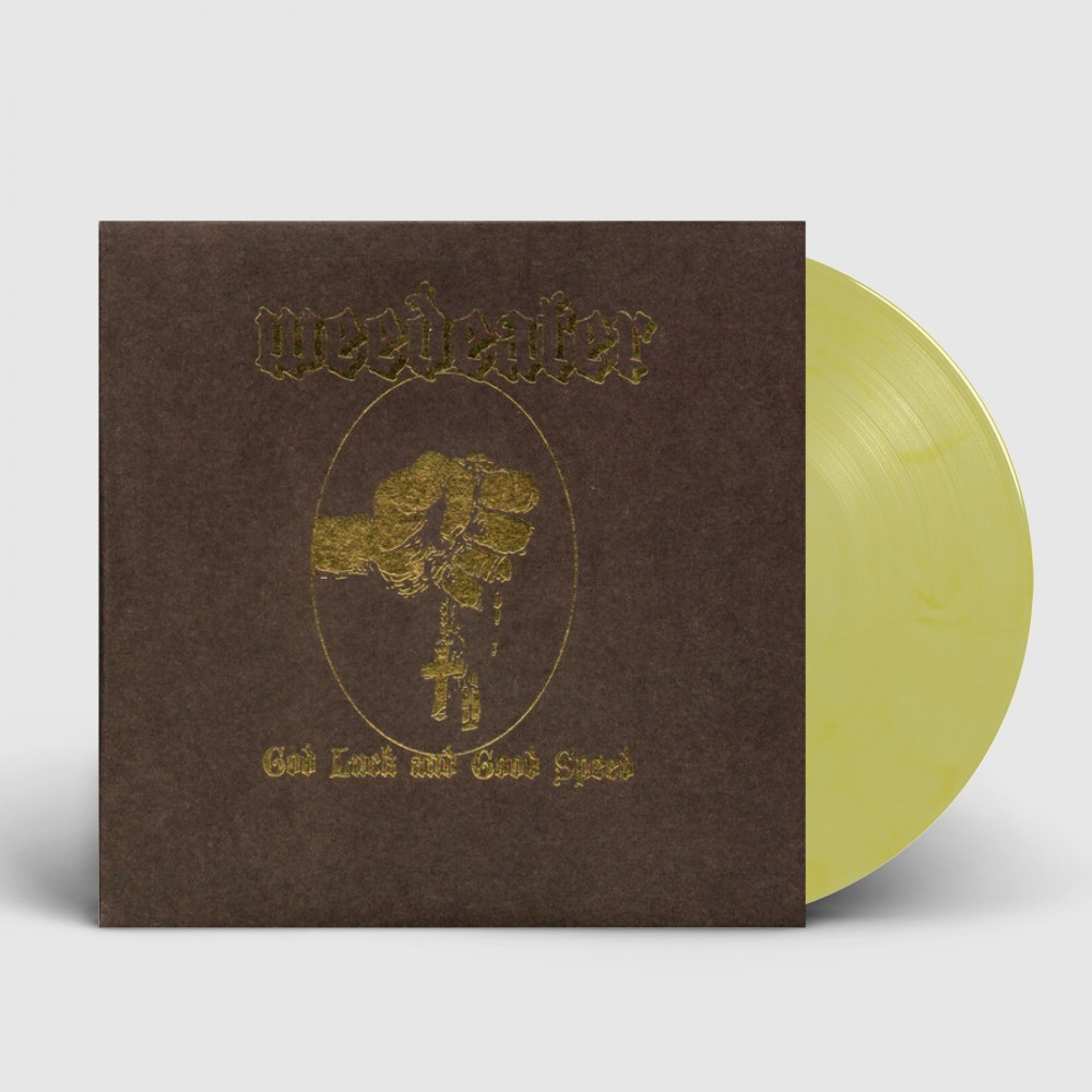 WEEDEATER - God Luck and Good Speed [YELLOW] (LP)