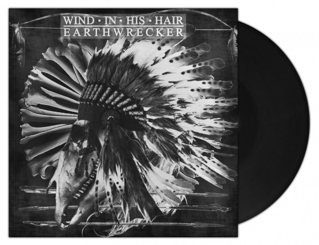 WIND IN HIS HAIR - Earthwrecker BLACK (LP)