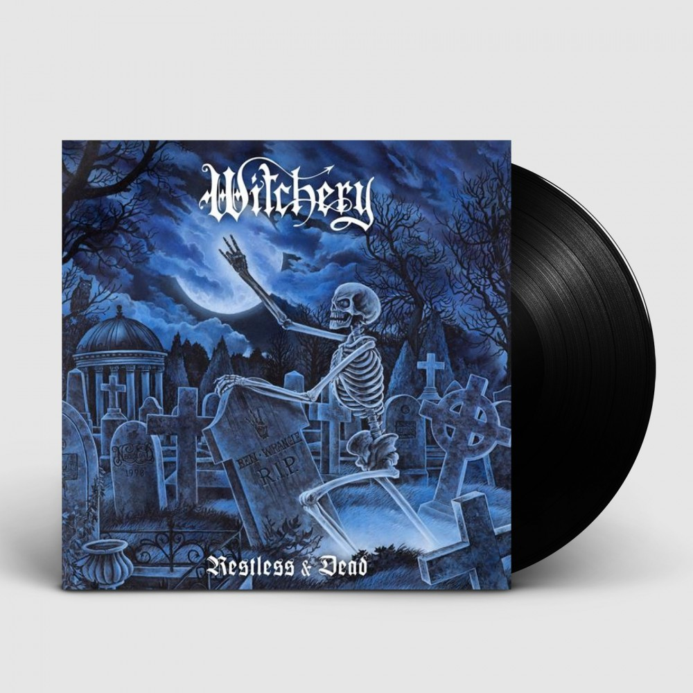WITCHERY - Restless & Dead [BLACK] (LP)