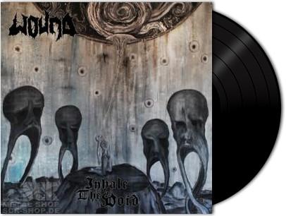 WOUND - Inhale The Void [BLACK Vinyl] (LP)