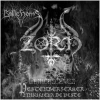 "ZORN / BATTLEHORNS - Split (ltd. transparent red 7"")"